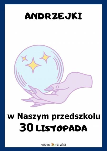 Andrzejki 30.11.2020 r.