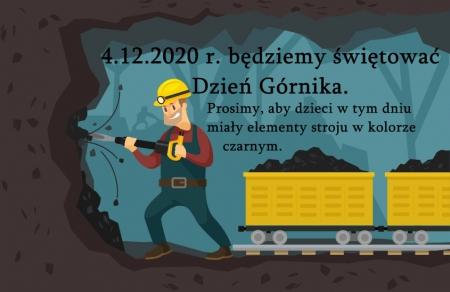 Barbórka - Dzień GÓRNIKA  - 4.12.2020 r.