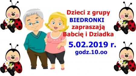 Ogłoszenie - zmiana daty Uroczystości w Biedronkach