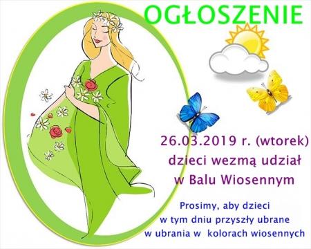 Bal Wiosenny - 26.03.2019 r.