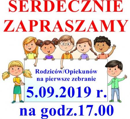Zebranie 5.09.2019 r.