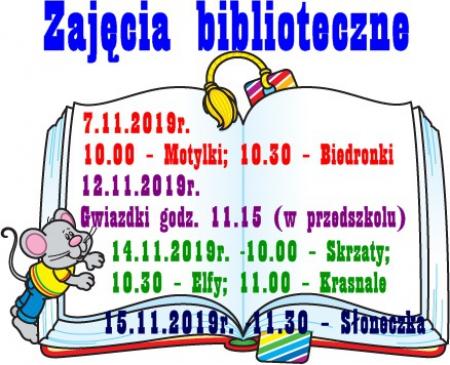 Zajęcia Biblioteczne