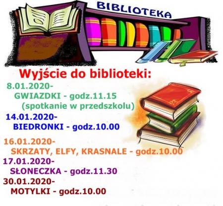 Wyjście do BIBLIOTEKI