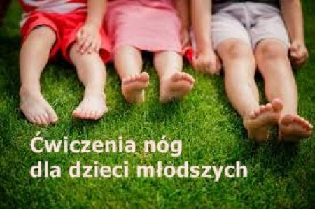 Ćwiczenia nóg dla dzieci młodszych