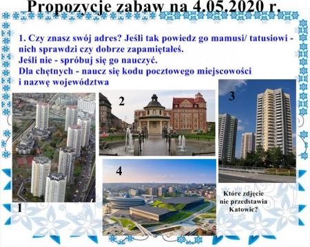 Moja miejscowość, mój region- 4.05-8.05.2020 r.